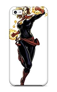 New Style 2250759K54374174 Hot Tpye Ms Marvel Case Cover For Iphone 5c