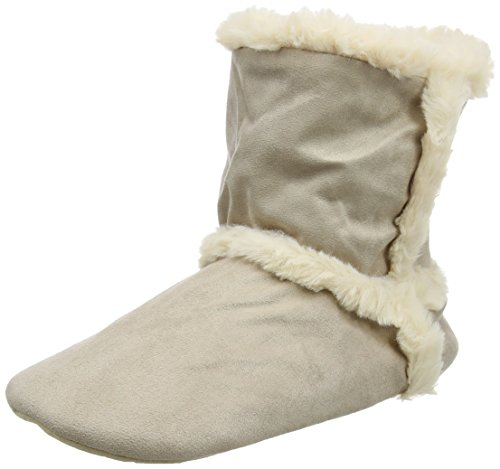 Chaussons Boot Nat And Calf Femme Ed natural Natural Beige Bas Ruby nwB7q67