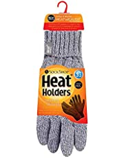 Heat Holders Women's Thick Warm Fleece Lined Cold Weather Winter Thermal Gloves