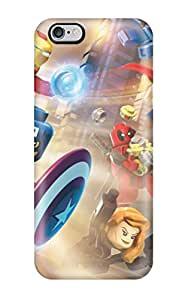 Hot Style VQZ-1388lubwtYFQ Protective Case Cover For Iphone6 Plus(lego Marvel Super Heroes)