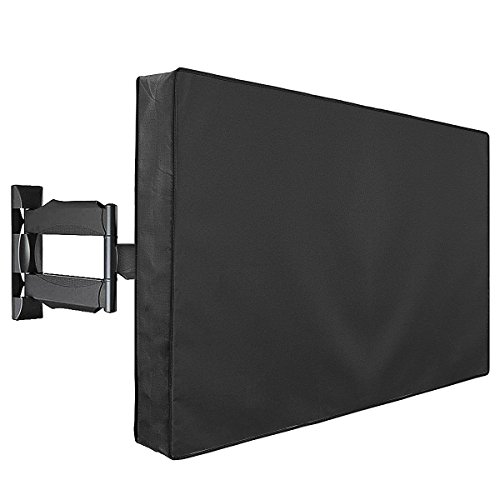 Outdoor TV Cover, Weatherproof Universal Protector for 40