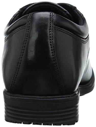 Rockport Mens Dettagli Essenziali Impermeabile Plain-toe Oxford Nero