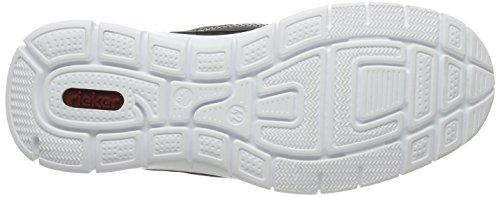 Rieker B4813 Sneakers-men - Zapatillas Hombre Gris - Grau (polvere/dust / 45)