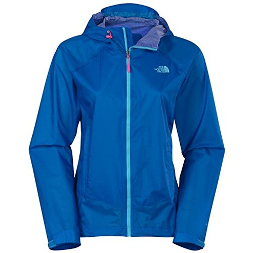 The North Face Women's Cloud Venture Jacket Clear Lake Blue Large (Jacket Face Apparel The North Venture Womens)