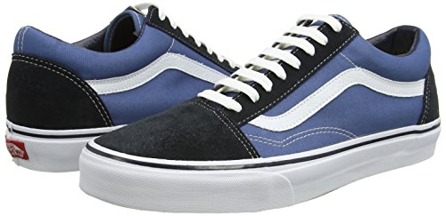 Skool Classic Homme Basses Bleu canvas Suede navy Vans Old Baskets PwEqB5g