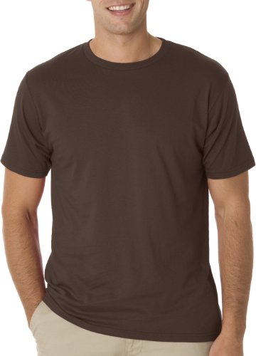 Anvil 490 Eco-Friendly Adult Organic Lightweight Tee - Chocolate, Extra Large
