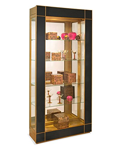 Philip Reinisch Co. Halo Altair II Contemporary Curio Display Cabinet