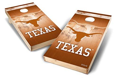PROLINE NCAA College 2' x 4' Texas Longhorns Cornhole Board Set - Wild ()