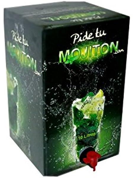 Mojito preparado listo para servir - bag in box 3 litros.: Amazon ...