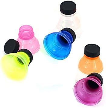 Tapas a presión para botellas de refrescos, reutilizables, 6 unidades