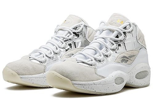 BAIT x Reebok Men Question Mid - Ice Cold White QPnDfvO