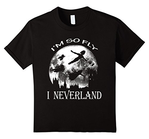 Kids I'm So Fly - I Neverland T-Shirt 8 Black (Im So Fan compare prices)