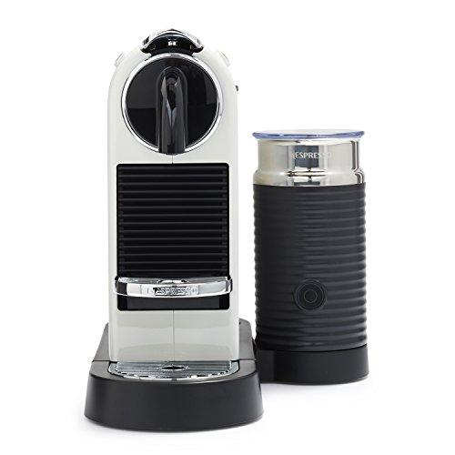Nespresso D122-US-WH-NE Citiz & Milk Espresso Machine, White