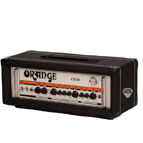 Orange Amplifiers Crush Pro CR120H 120W Guitar Amp Head Black by Orange Amplifiers