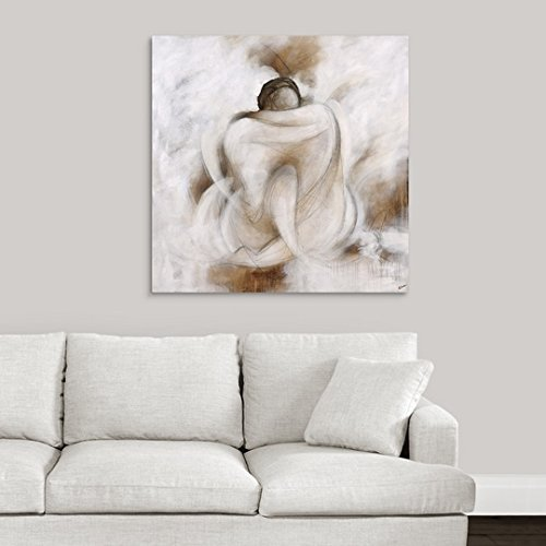 greatBIGcanvas Gallery-Wrapped Canvas entitled Love Embracing by Rikki Drotar 35''x35''