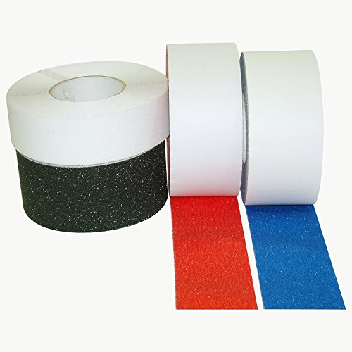 JVCC NS-2A Premium Non-Skid Tape: 2 in. x 60 ft. (Semi-Transparent/Translucent) by J.V. Converting (Image #3)