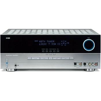 amazon com harman kardon avr 240 7 1 channel a v receiver silver rh amazon com