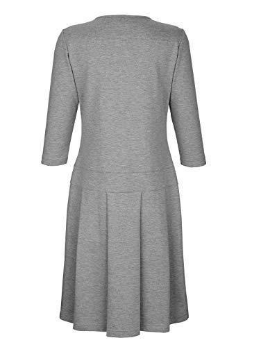 Kleid aus Sweatware KLiNGEL by Damen Hautfreundlich Grau 5E0BvqwB