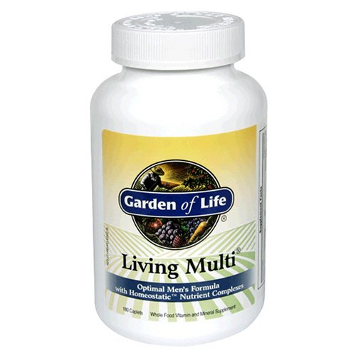 Garden of Life Living Multi Optimal Formula, 180 Caplets