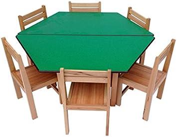 Niños Preescolar escuela aula hexagonal mesa sillas: Amazon.es: Hogar