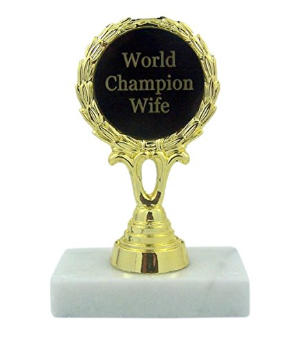 World Champion Wife Trophy Award Statue, 5 1/2 Inch (Trophy Wife)