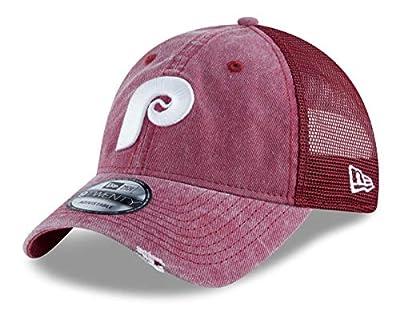 "New Era Philadelphia Phillies 9Twenty Cooperstown Tonal Washed 2"" Meshback Hat"