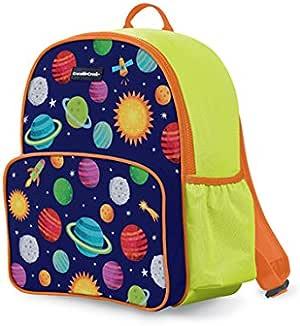 Crocodile Creek 4648-2 Eco Kids Backpack Solar System, Blue/Green