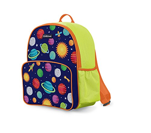 Crocodile Creek 4648-2 Eco Kids Backpack Solar System, Blue/Green