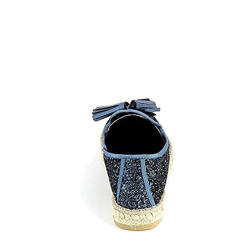 La maison de lespadrille, Damen Sneaker Hellblau