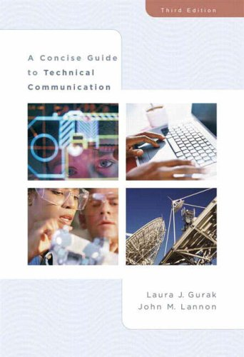 A Concise Guide to Technical Communication(3rd Edition)