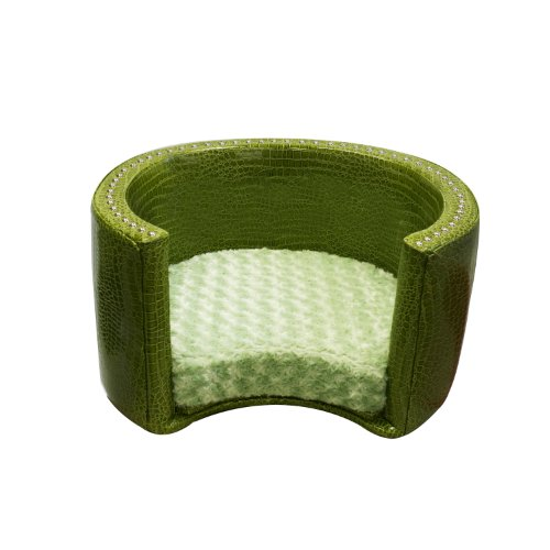 Spoiled Rotten Classic Collection 80642 Small Round Pet Bed