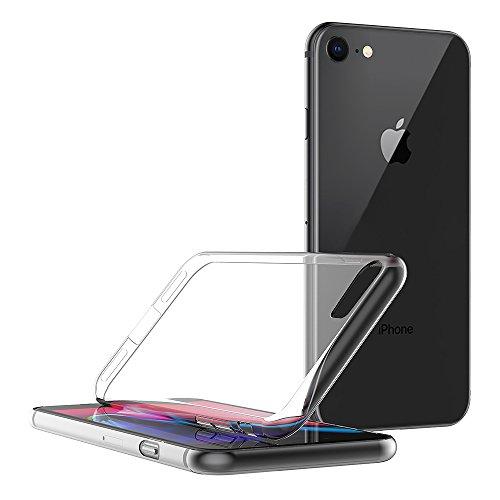 Cover per iPhone 7 / iPhone 8, AICEK Cover iPhone 7 Silicone Case Molle di TPU Trasparente Sottile Custodia per iPhone 7 / iPhone 8
