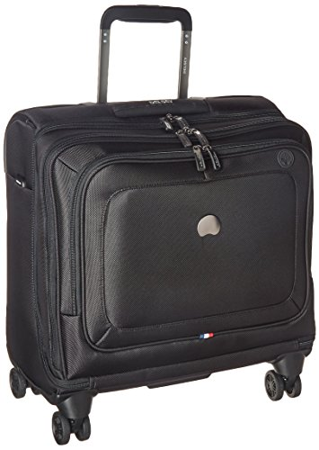 DELSEY Paris Cruise Lite Softside Spinner Trolley Tote, BLACK