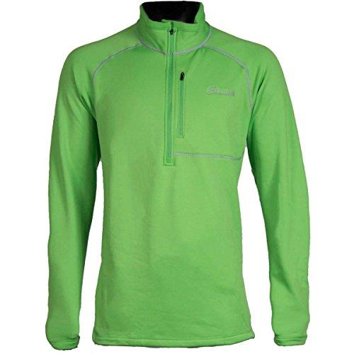 Cloudveil Mens 1/4 Zip Pullover (Green Flash / XX-Large)