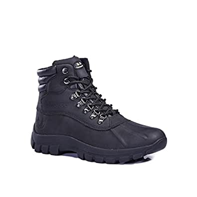 Amazon.com | LM Men's Winter Snow Boots Shoes Waterproof