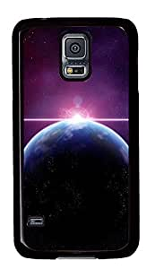 Samsung Galaxy S5 Cases & Covers - Earth And Sun Abstract Render PC Custom Soft Case Cover Protector for Samsung Galaxy S5 - Black