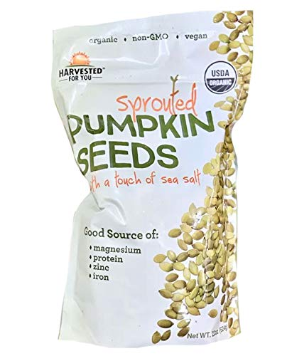 Harvested for You Sprouted Pumpkin Seeds with Sea Salt - 22 oz. by Harvested for You