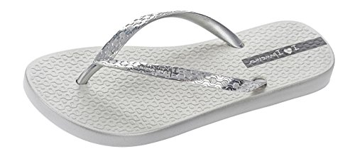 Ipanema Silver Womens Flip Silver Flops Glam TxA15wrx