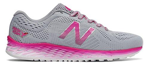 貧困さびた道を作る(ニューバランス) New Balance 靴?シューズ レディースランニング Fresh Foam Arishi Komen Silver Mink with Pink Glo シルバー ミンク ピンク グロー US 9.5 (26.5cm)