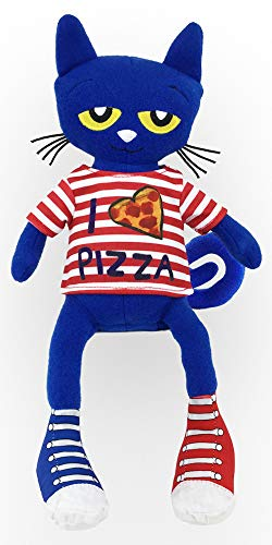 MerryMakers Pete The Cat Pizza Party Doll, 15.4-Inch ()