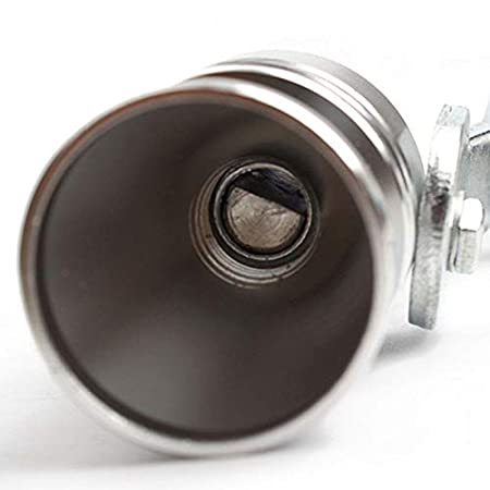 BOLLAER Turbo Sound Exhaust Pipe Oversized Roar Maker Car Turbo Whistle Noise Exhaust Muffler Pipe Whistle//Fake Blow off valve BOV Simulator M