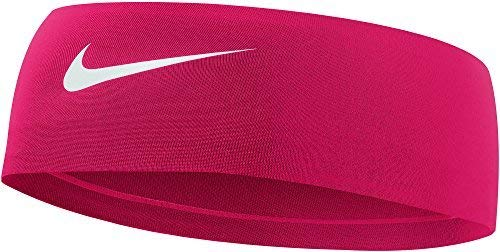 Nike Women's Fury Headband 2.0 Gym Red/White One Size (3 Pack)