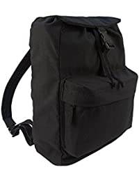 Day-Pack Canvas Backpack (Black) #2369