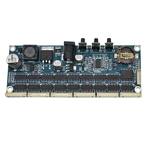 Healifty PCBA Clock Motherboard 12/24hours Display Automatic Close Clock Kit Digital Clock Set