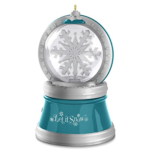 Hallmark Keepsake Christmas Ornament That's Snow Magical Spinning Snowflake with Light, Sound and Motion
