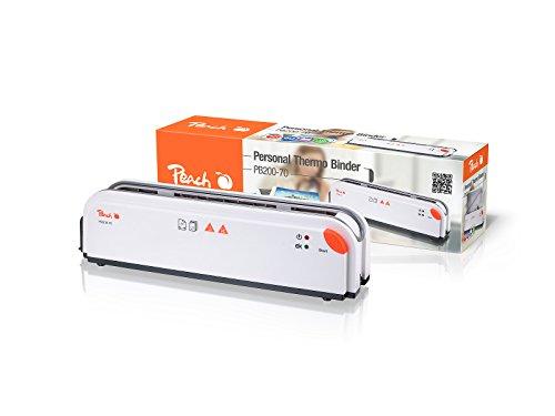 Peach PB200-70 Thermobindegerät DIN A4 - 'Heisse' Präsentationen leicht gemacht