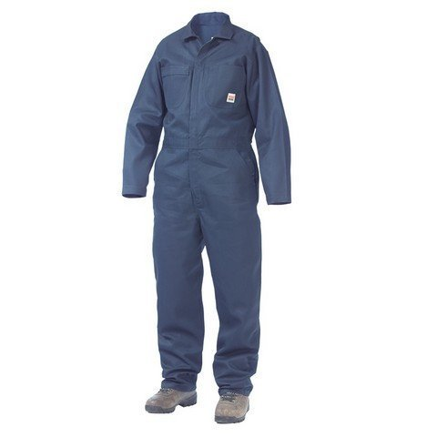 UPC 770167334378, Richlu i06311NYS Mens Long Sleeve Twill Coverall Polyester & Cotton, Navy - Small