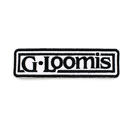 Hat Badge Emblem (Gloomis G Loomis Logo Clothes Hat Cap Patch Emblem Badge)
