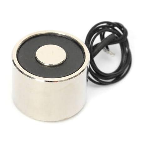 Elektromagnet TOOGOO P20 // 15 2,5 kg 12V DC Gesaugt Typ Elektro heber Hebe-Haltemagnet Elektromagnet Magnetspule R