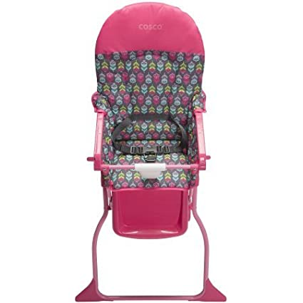 Amazon.com: Cosco simple Fold Trona – Floral Pop: Baby